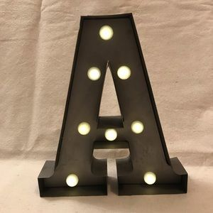 """Other - Letter """"A"""" Marquee Light/Decoration"""